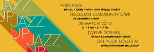 Jazz Up! An Easter Celebration at 7Kickstart Cafe.